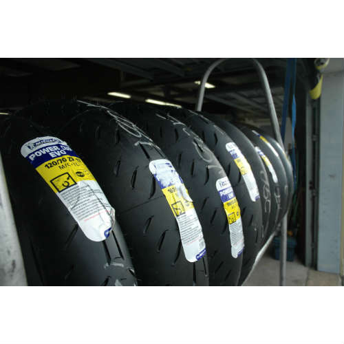 LRRS tire rack