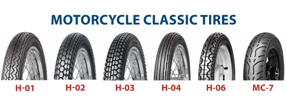 Motorcycle Classic Tires